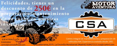 """CSA expertos en Preparaciones Premium presentes en """"Motor aventura 2017"""""""
