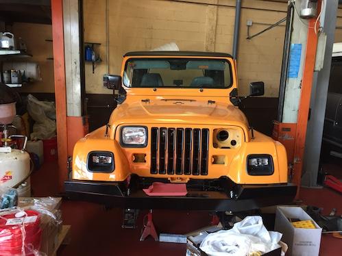 Jeep Wrangler YJ Renegade