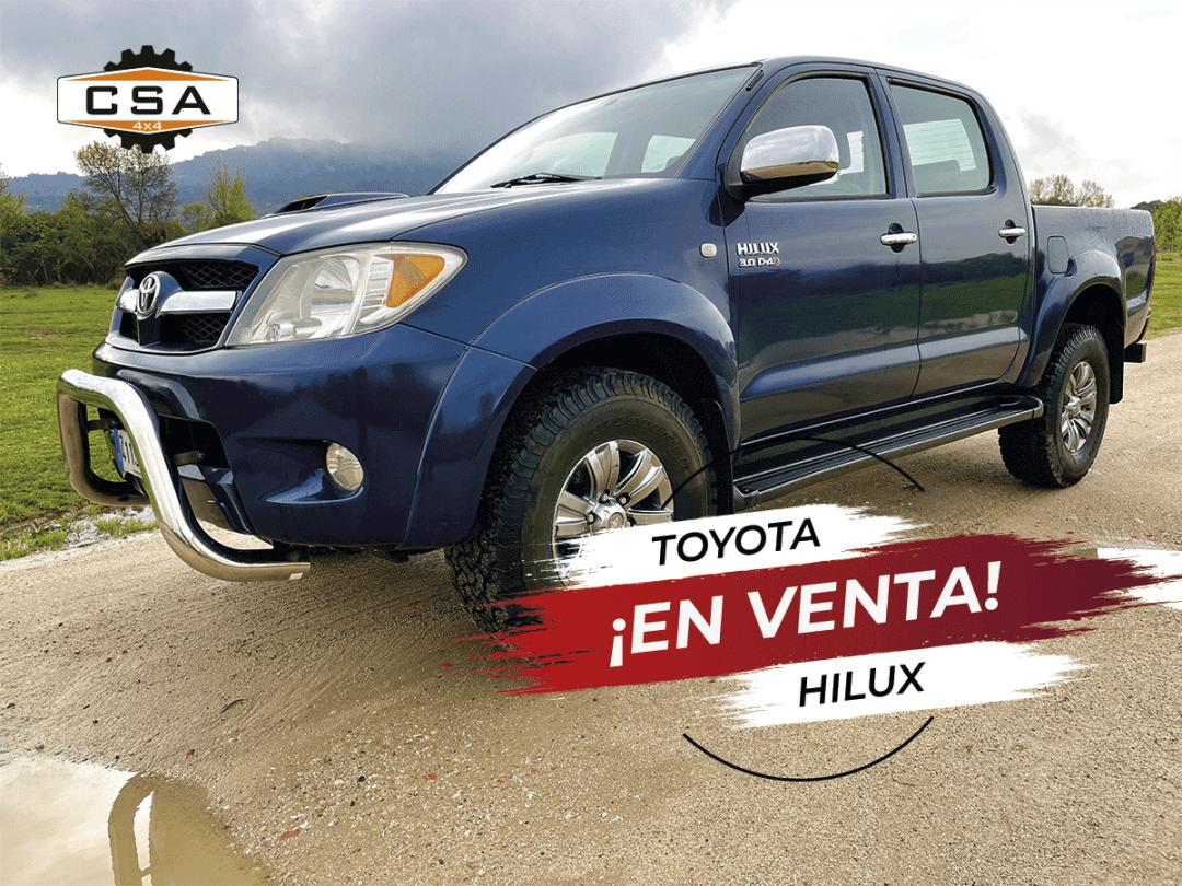 Toyota Hilux 3.0 VXL Doble Cabina 4×4
